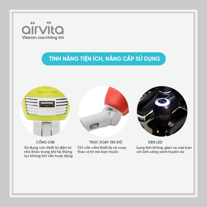 AIRVITA CAR AIR PURIFIER 5S